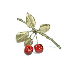 broche cerezas